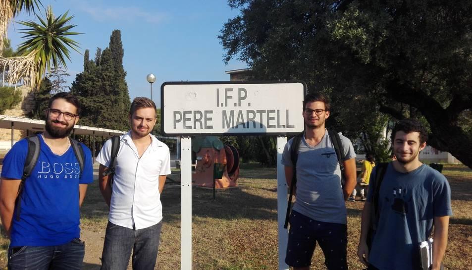 Alumnes francesos participants a Tarragona.