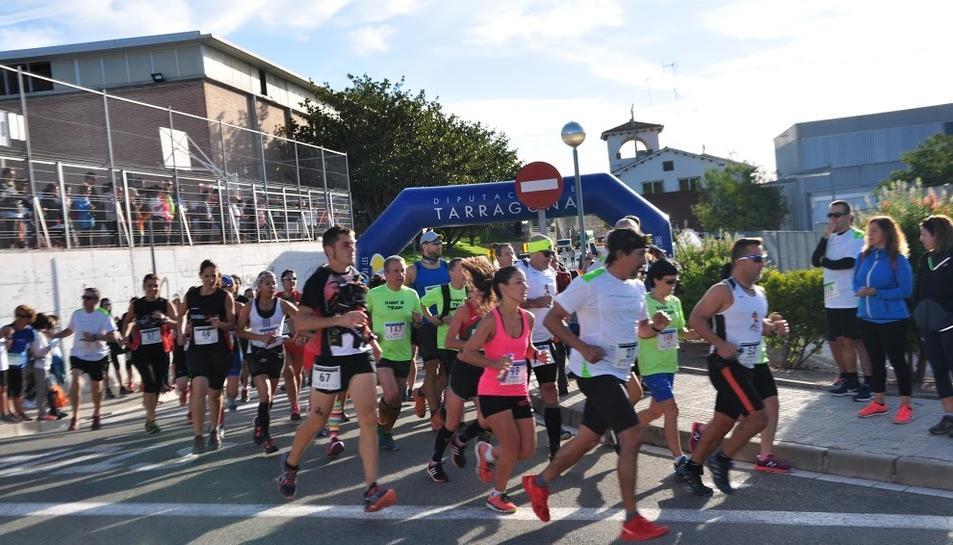 Imatge de la sortida de la cursa.