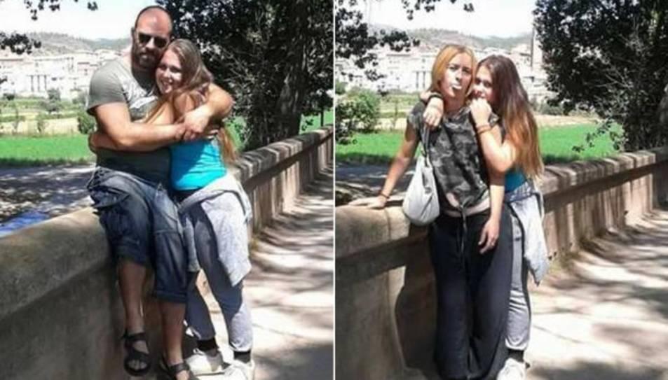 Maria Molina en una foto d'arxiu, amb els seus pares.