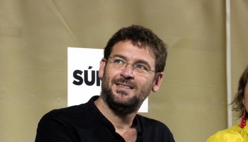 El diputat de CSQP i líder de Podem Catalunya, Albano Dante Fachín, estarà present en l'acte.