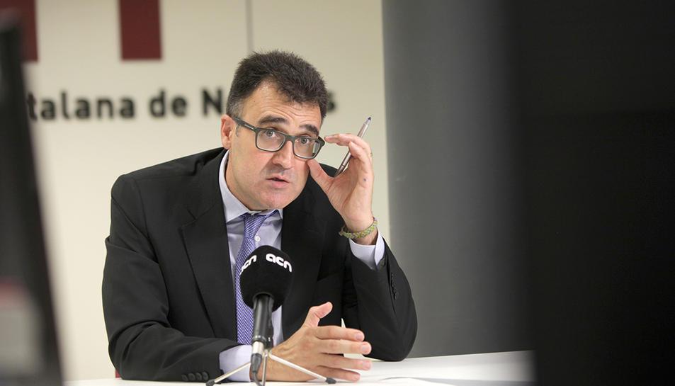 Imatge d'arxiu de Lluís Salvadó, detingut aquest dimecres per la Guàrdia Civil.