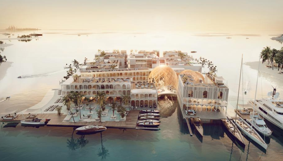 The Floating Venice, que obrirà l'any 2020.