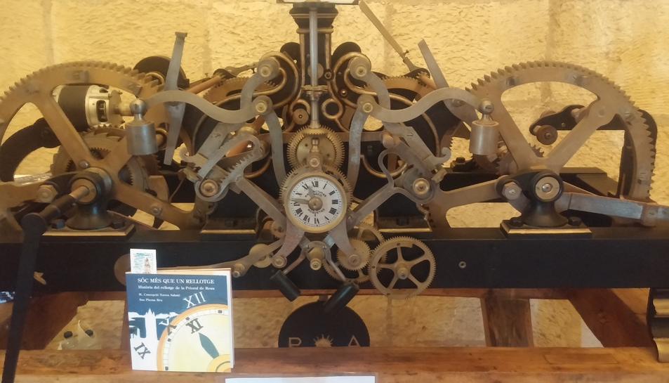 El conte Sóc més que un rellotge i la maquinària en la qual s'inspira.