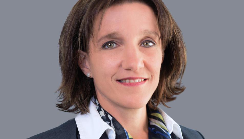 Imatge d'arxiu d'Anne Berg, fins ara directora de BASF Espanya.