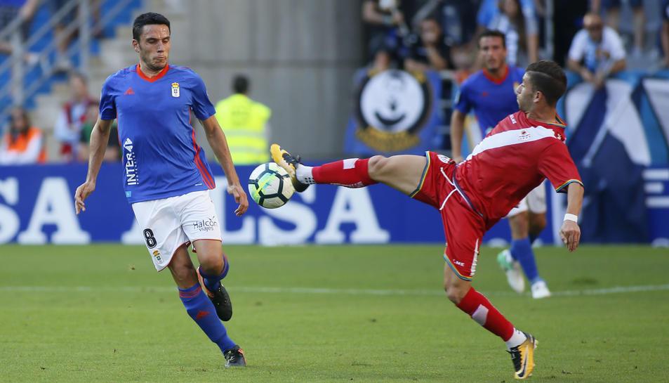 Ramón Folch s'ha convertit en un jugador imprescindible al mig del camp dirigit per Anquela.