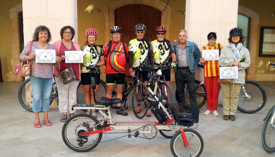 Participants de la Cursa de Transports.