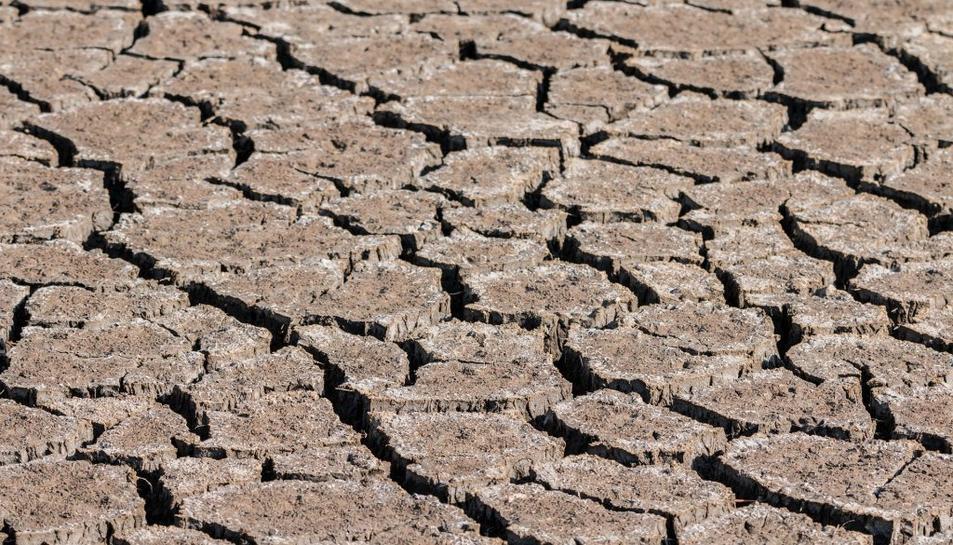 Imatge de les conseqüències del canvi climàtic.