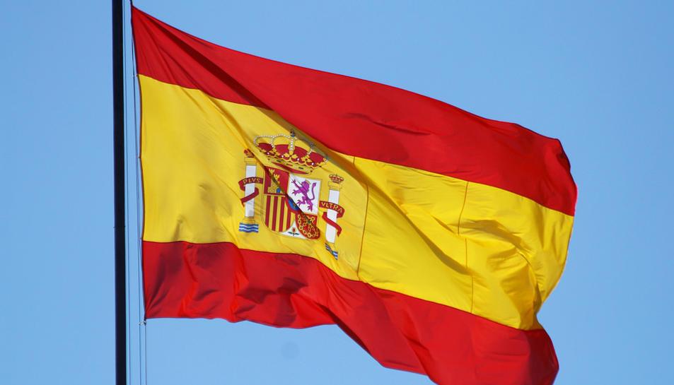 Imatge de la bandera d'Espanya.