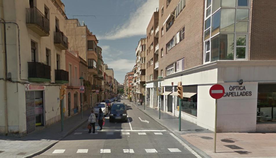 Imatge d'arxiu de l'Avinguda de Maria Cristina.