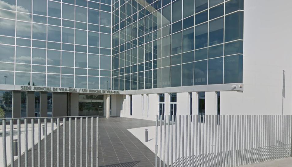 Imatge de l'exterior de la Seu Judicial de Vila-real.
