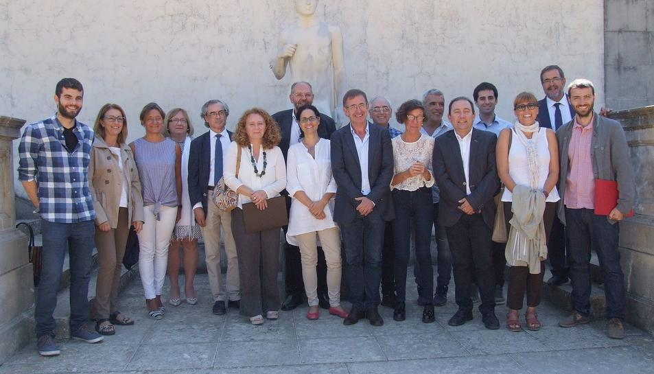 Els responsables dels museus de Tarragona i les Terres de l'Ebre que han constituït la XarxaTerritorial