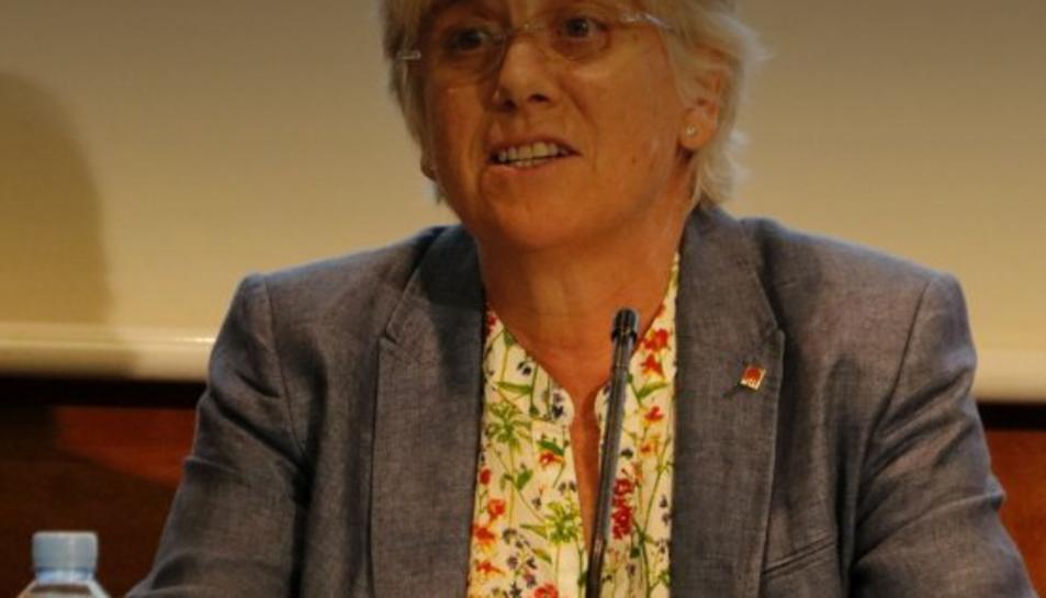 La consellera Ponsatí.