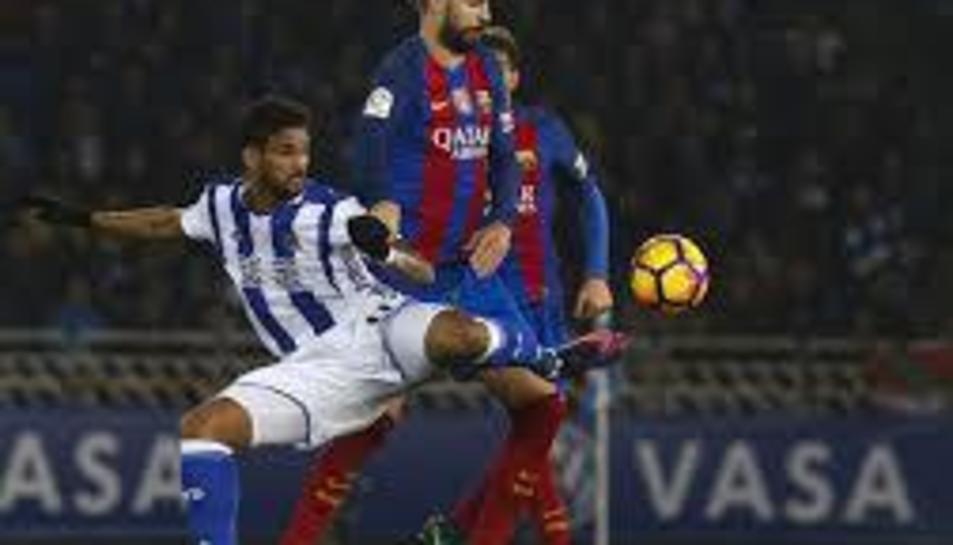 Piqué, jugador del Barça.