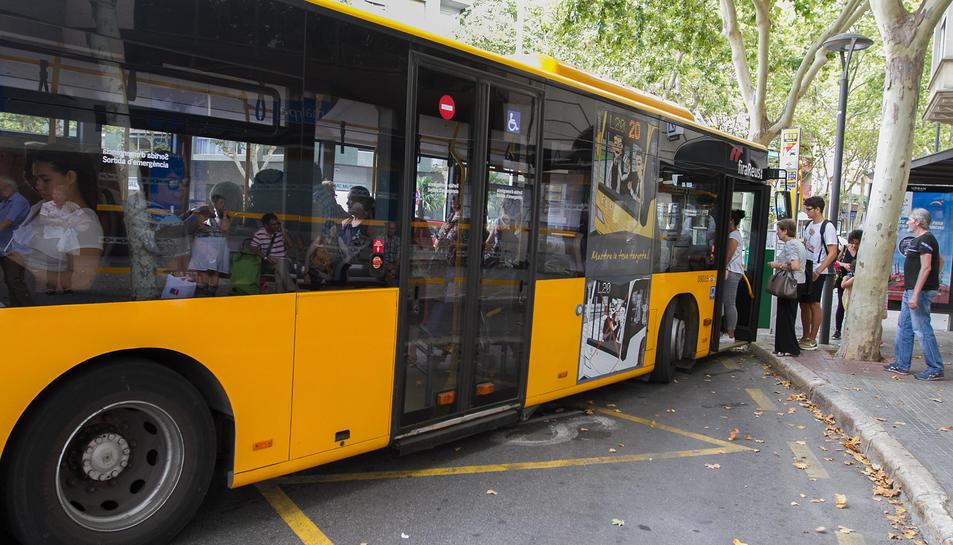 Una imatge d'arxiu d'un dels vehicles de Reus Transport.