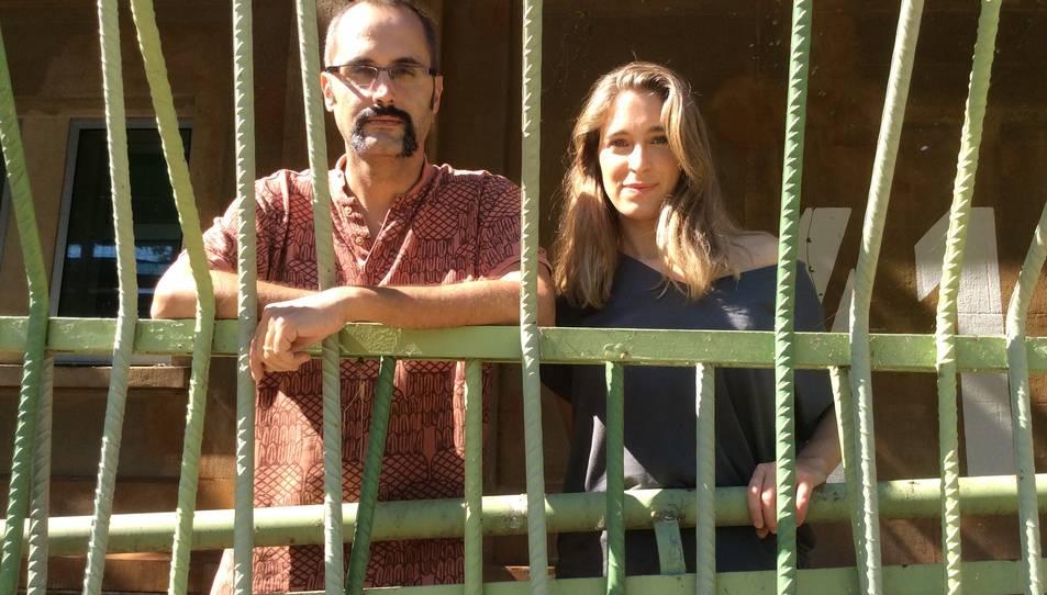 El Xavi i la Joana divendres passat a Tarragona.