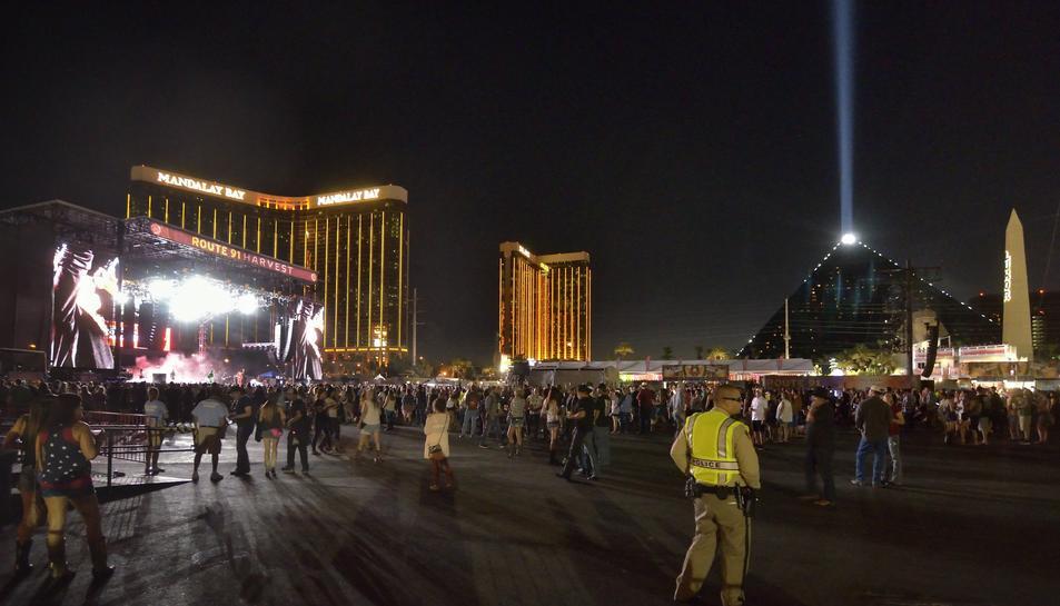 El tiroteig es va produir en un concert de música country.