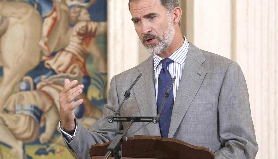 Una imatge d'arxiu de Felip VI, rei d'Espanya.