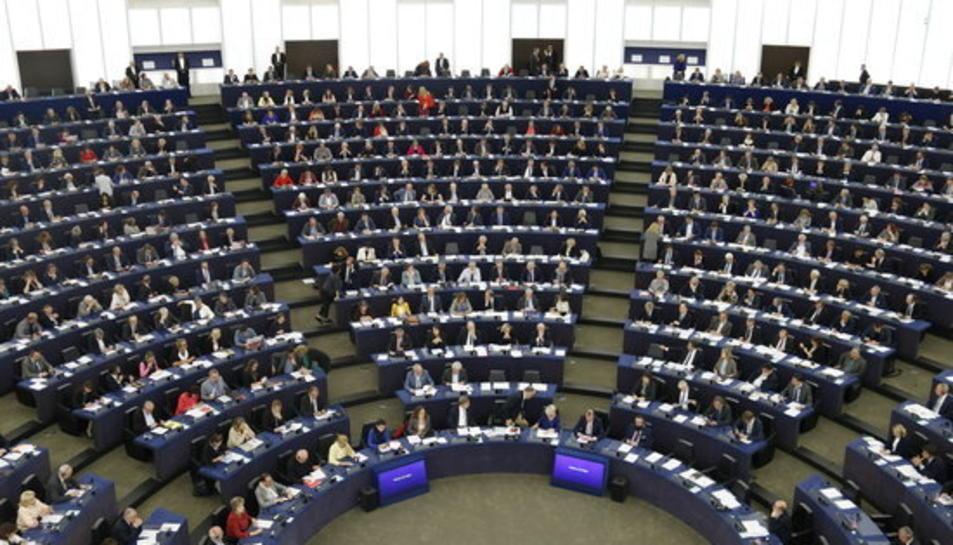 Ple del Parlament Europeu aquest dimecres.