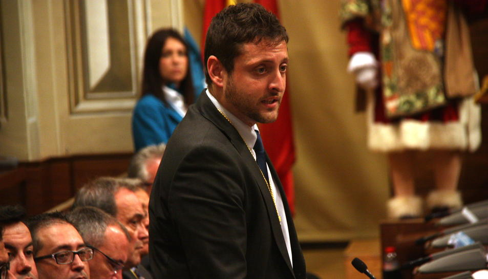 Imatge d'arxiu del portaveu municipal de Ciutadans a Tarragona, Rubén Viñuales.