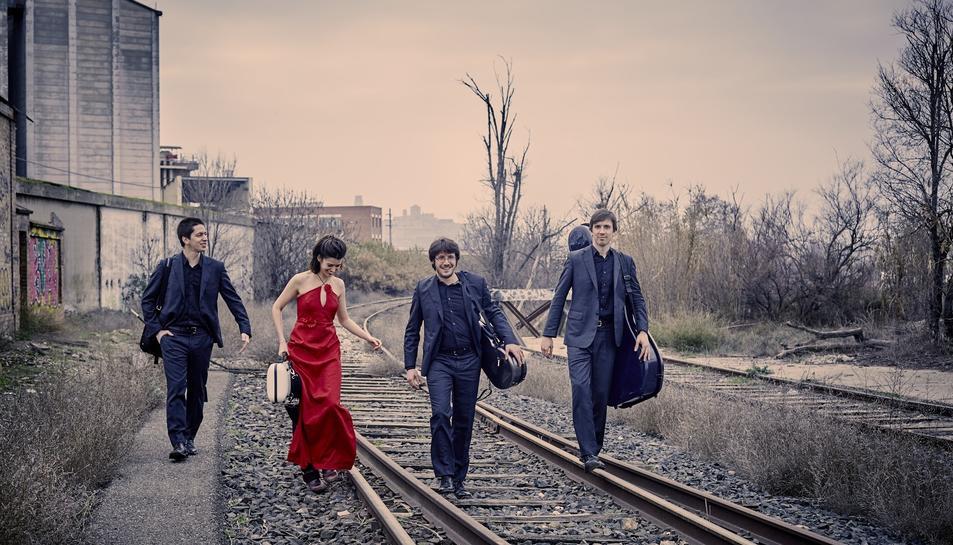 El Quartet Gerhard presentarà el concert 'Creuar la línia' el proper 6 d'octubre a l'Auditori Josep Carreras.