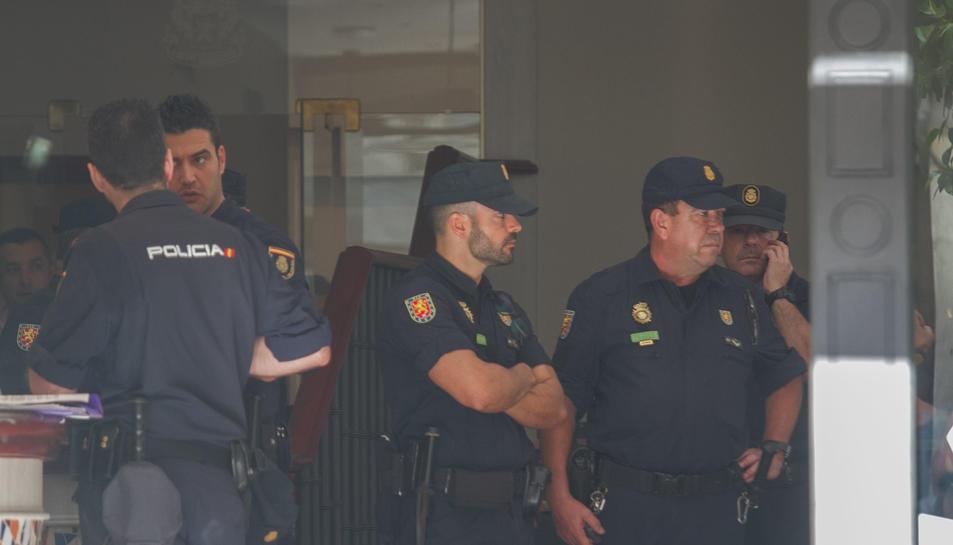 La policia marxa de Reus (1)