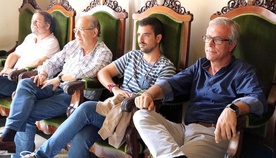 L'alcalde de Tarragona ha estat un dels assistents a la roda de premsa de Prats.