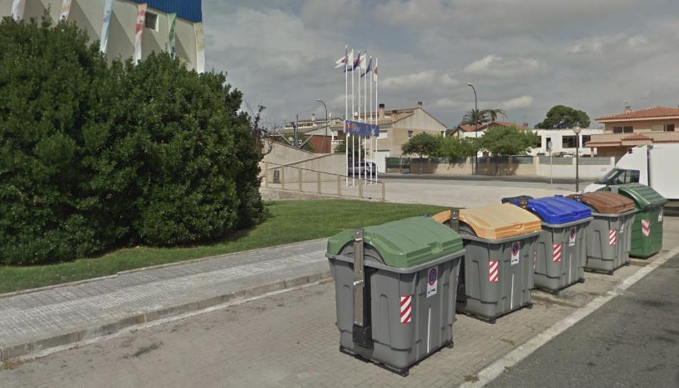 Els contenidors cremats es trobaven al carrer Bonaventura Carles Aribau.