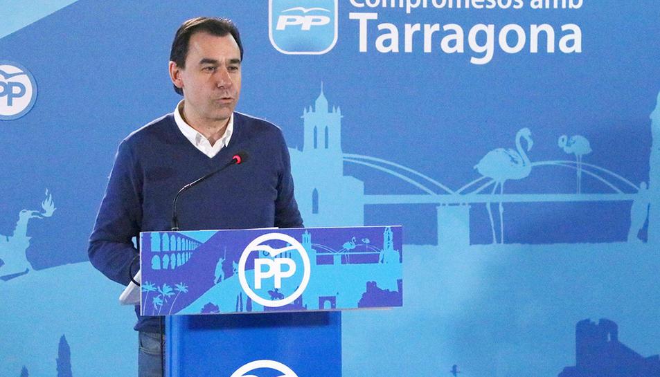 Imatge d'arxiu del coordinador general del PP, Fernando Martínez-Maíllo.