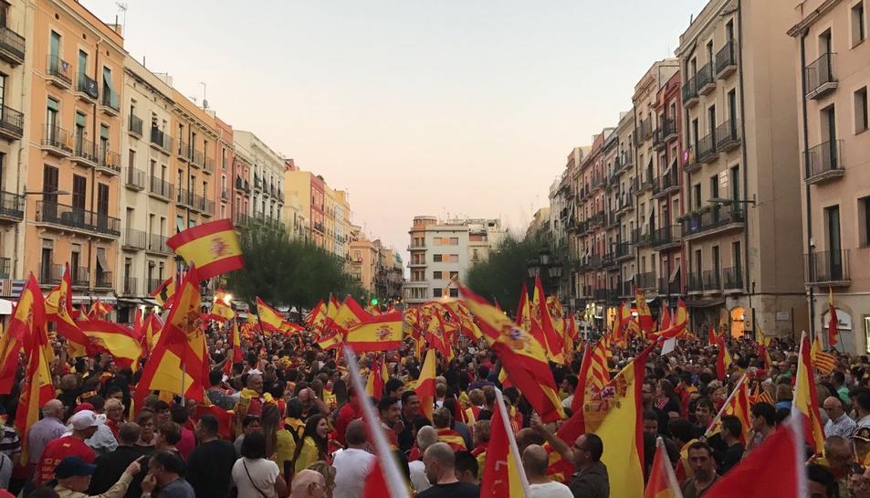 Concentració per la unitat d'Espanya