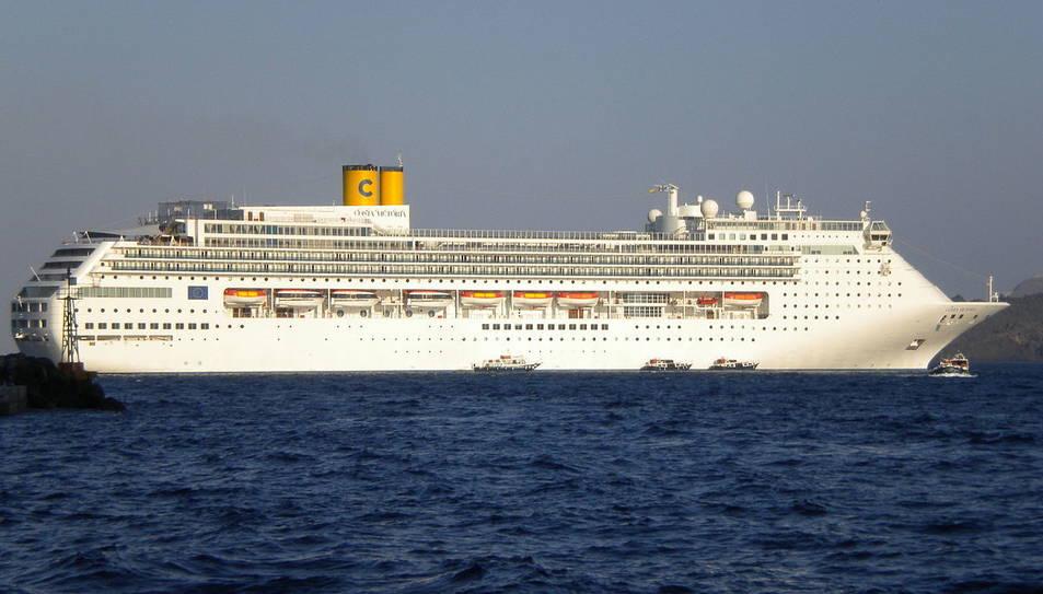 El Costa Victòria tindrà la base a Tarragona la pròxima temporada dissenyada per Costa Cruceros.