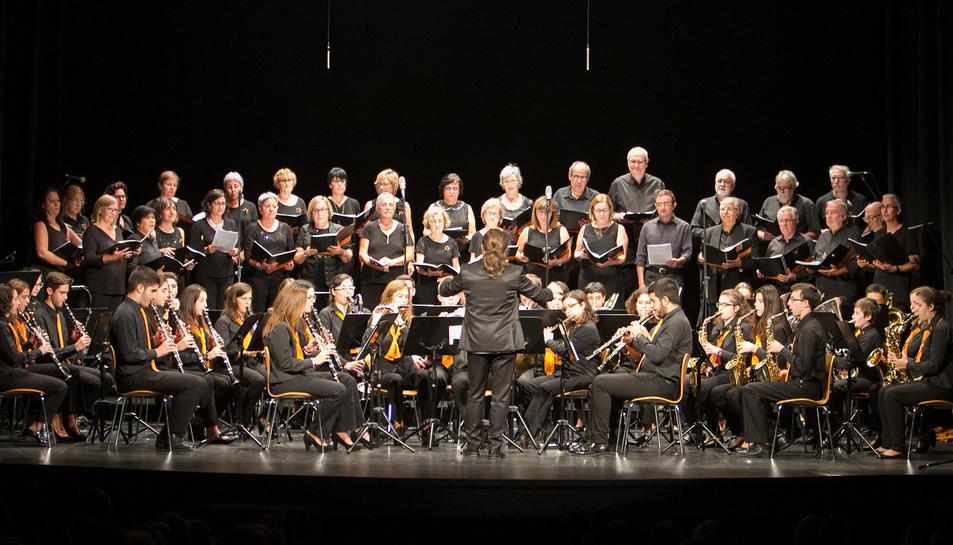 Concert d'aniversari de la Fundació Reddis al Teatre Bartrina de Reus.