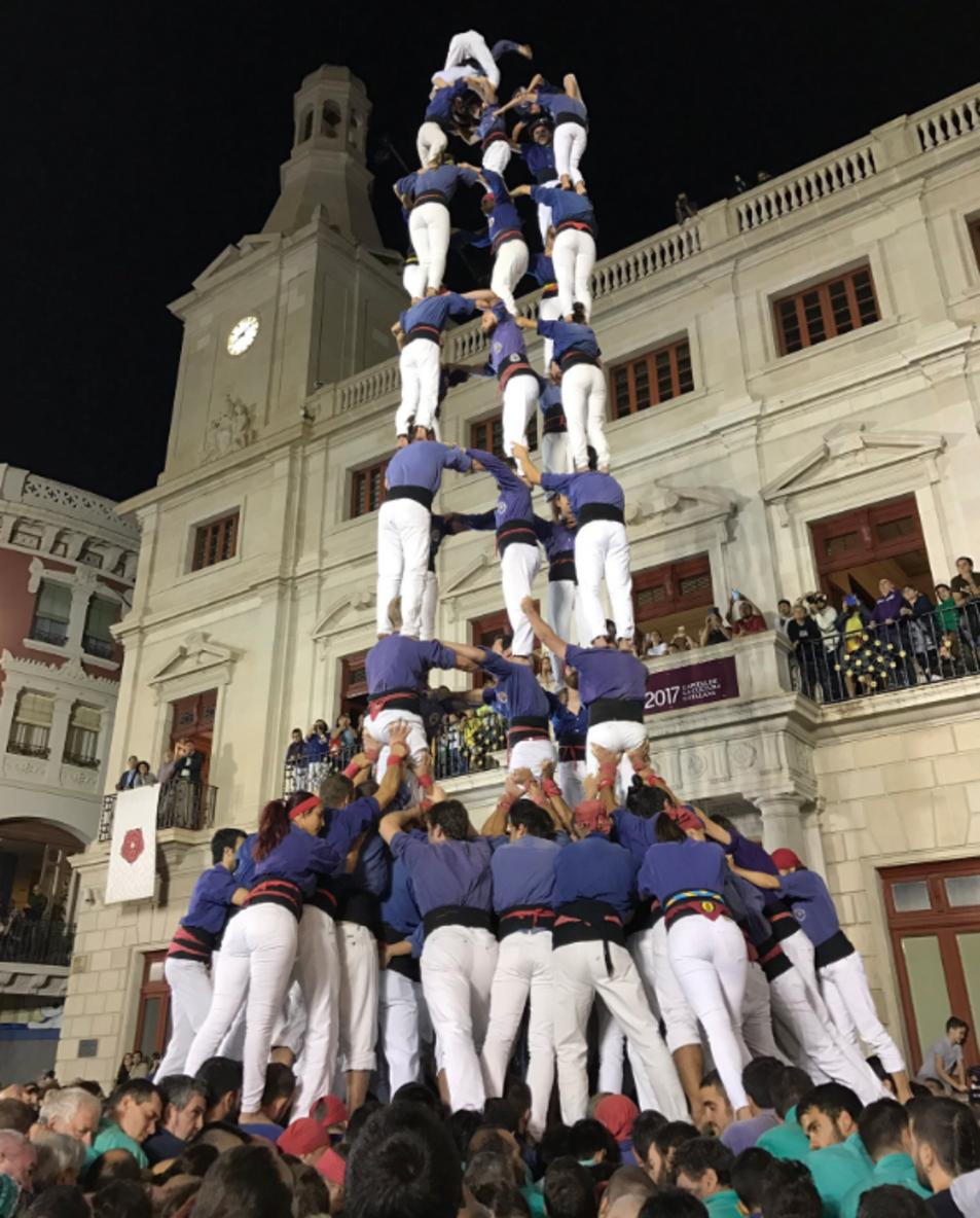 5de9f dels Capgrossos de Mataró a la Diada del Mercadal.
