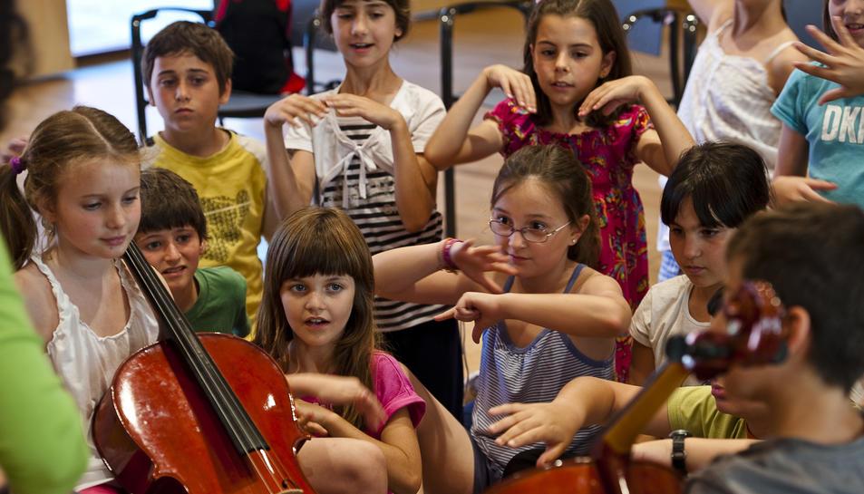 El violoncel, protagonista del taller de Pau Casals.
