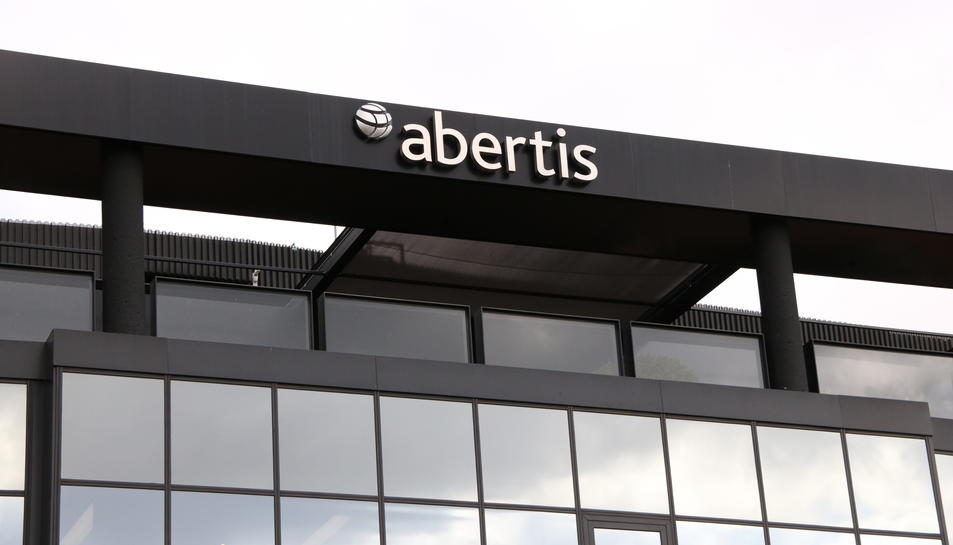 imatge de la seu d'Abertis situada
