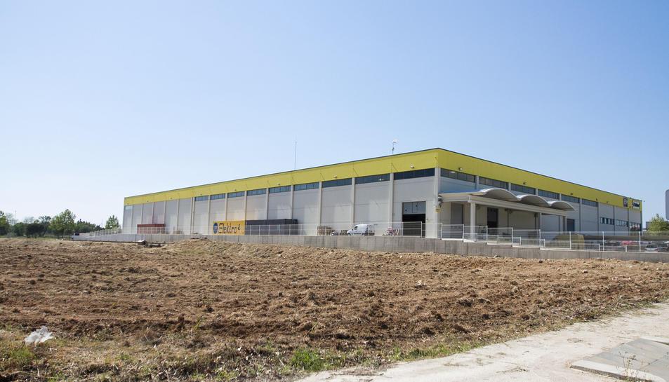 Les instal·lacions d'Elektro3 a Vila-seca.