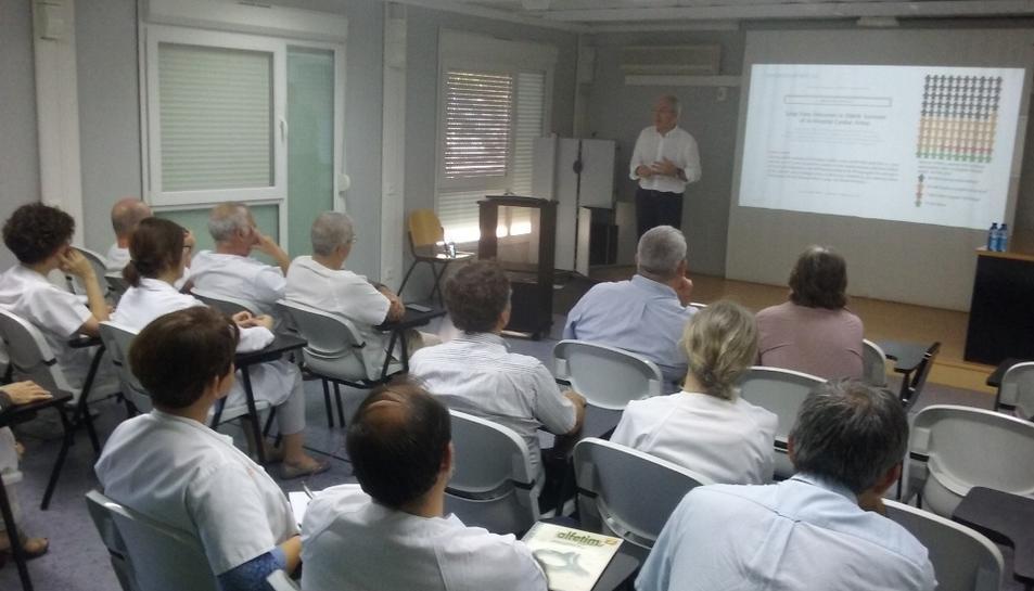 Imatge de la sessió impartida per Jordi Varela.