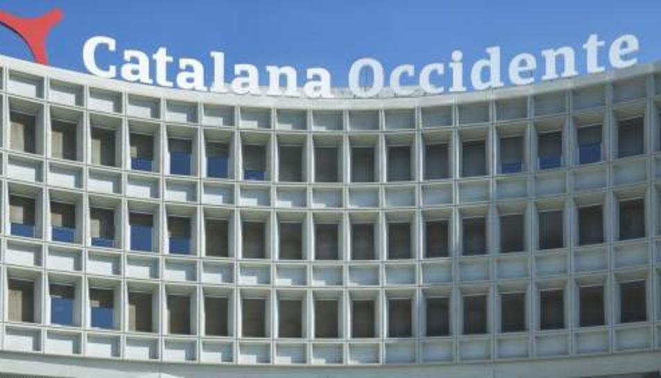Oficines de Catalana d'Occident.