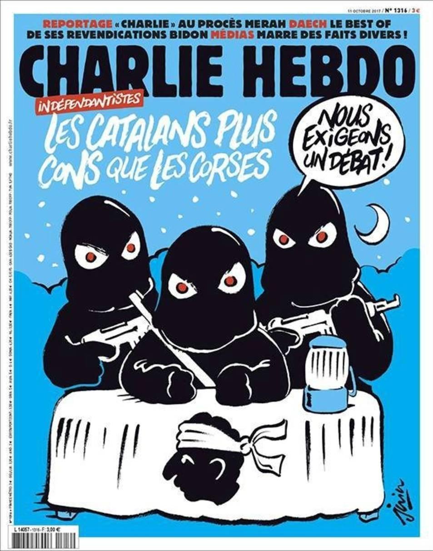 La portada del Charlie Hebdo.