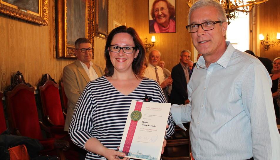 La soprano tarragonina Marta Matheu Usach, nou membre del Senat tarragoní.
