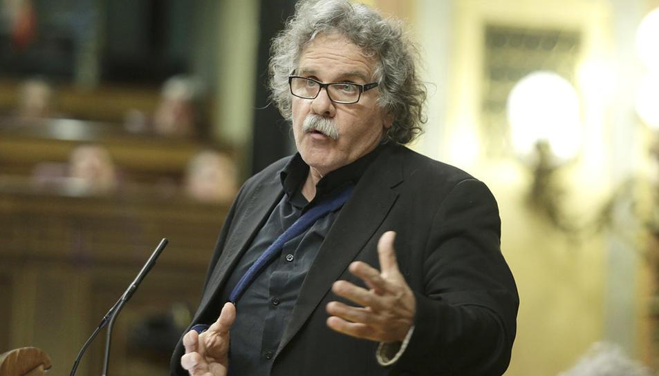 El portaveu d'ERC al Congrés, Joan Tardà.