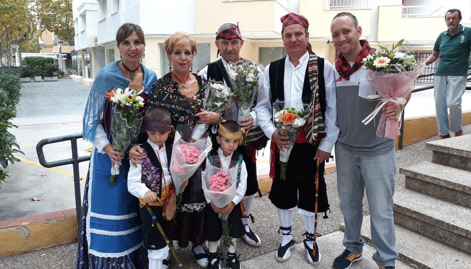 La comunitat aragonesa de Salou celebra el Dia del Pilar