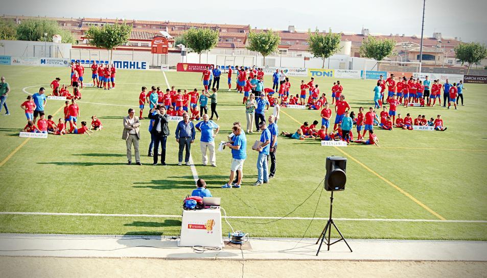 L'acte de presentació del club aquest 12 d'octubre.