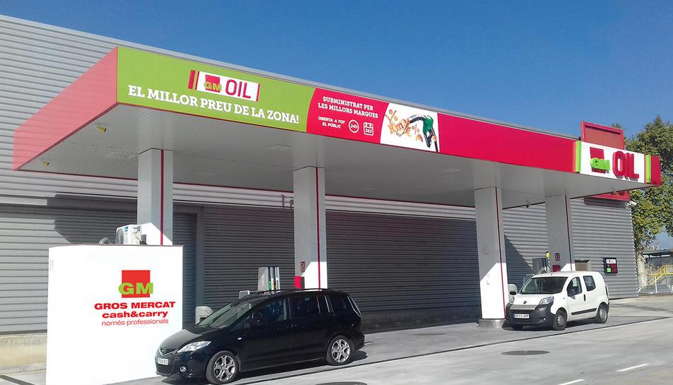 La nova benzinera GM-Oil a Tarragona.
