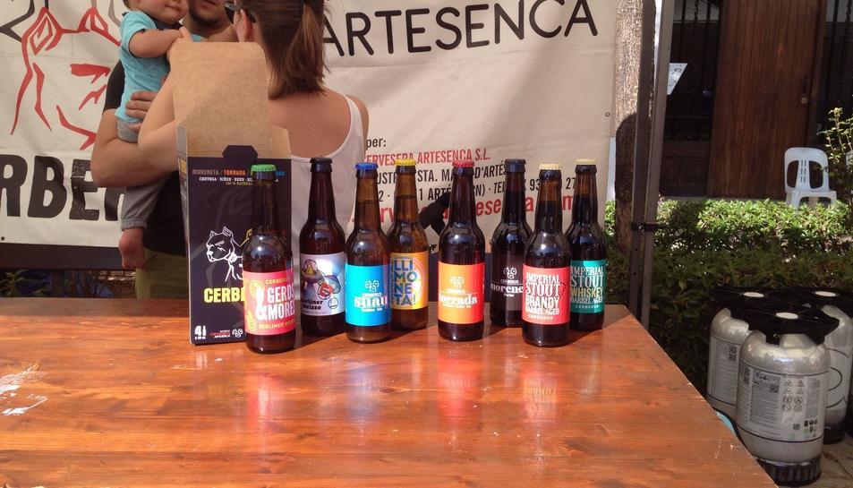 Mostra de cervesa artesana a Torredembarra.