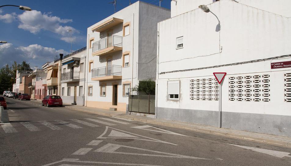 Imatge d'arxiu d'un carrer del barri Sol i Vista, situat a tocar del polígon AgroReus.