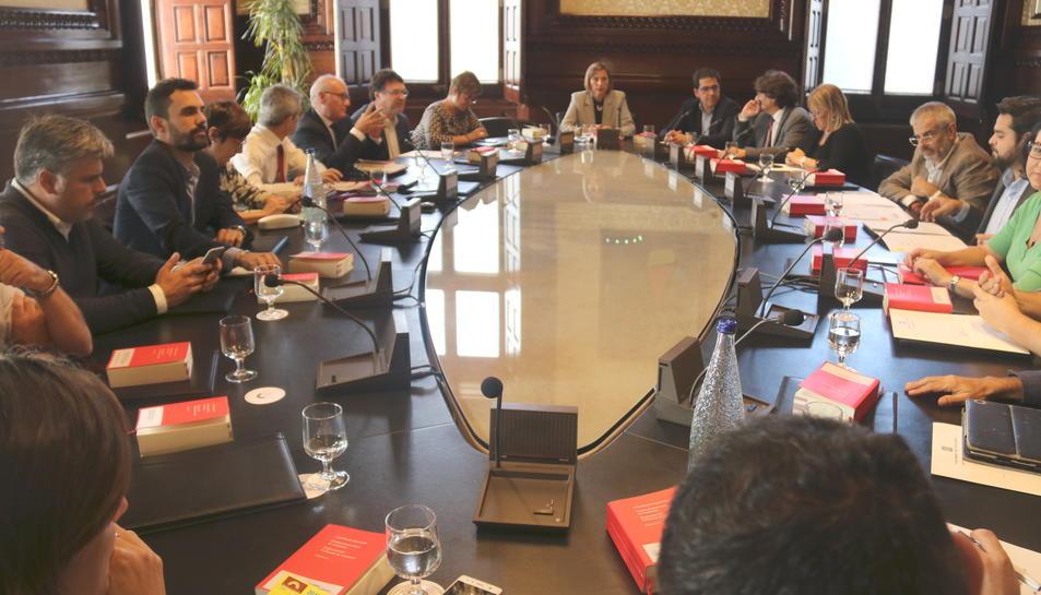 La Junta de Portaveus es torna a reunir aquest dilluns 16 d'octubre a la tarda.