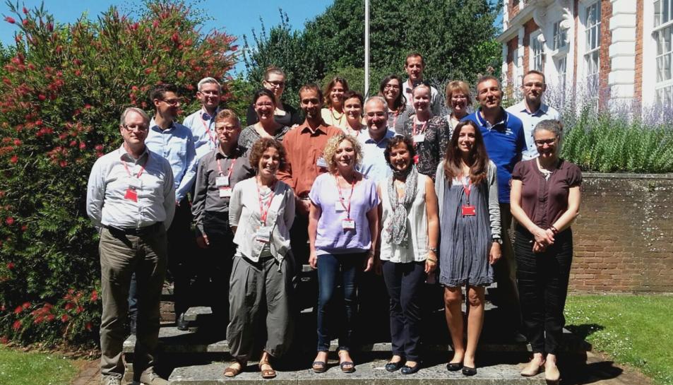 Imatge d'arxiu dels representants de països Europeus