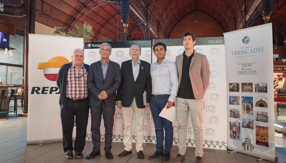 El treball premiat ha estat 'Anàlisi fotogramètrica al Modernisme: La geometria dels sostres de Gaudí i Jujol', de l'alumne