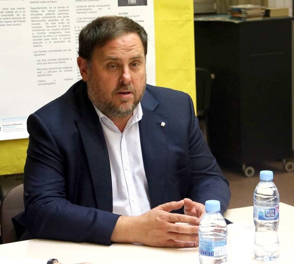 Imatge d'arxiu del vicepresident de la Generalitat, Oriol Junqueras.