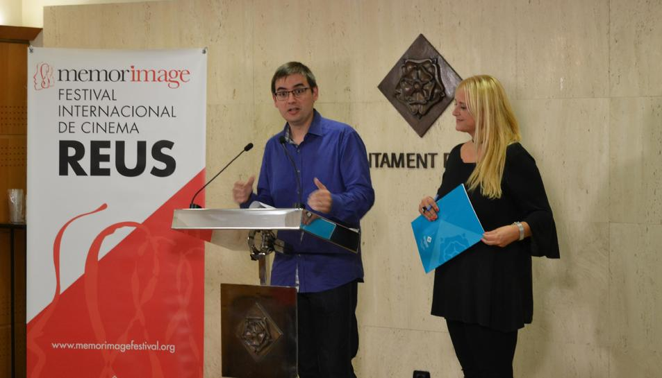 Presentació de la XII edició del Festival Memorimage de Reus.